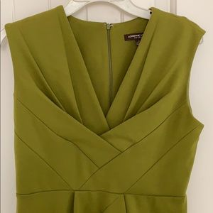 Adrienne Vittadini olive green dress